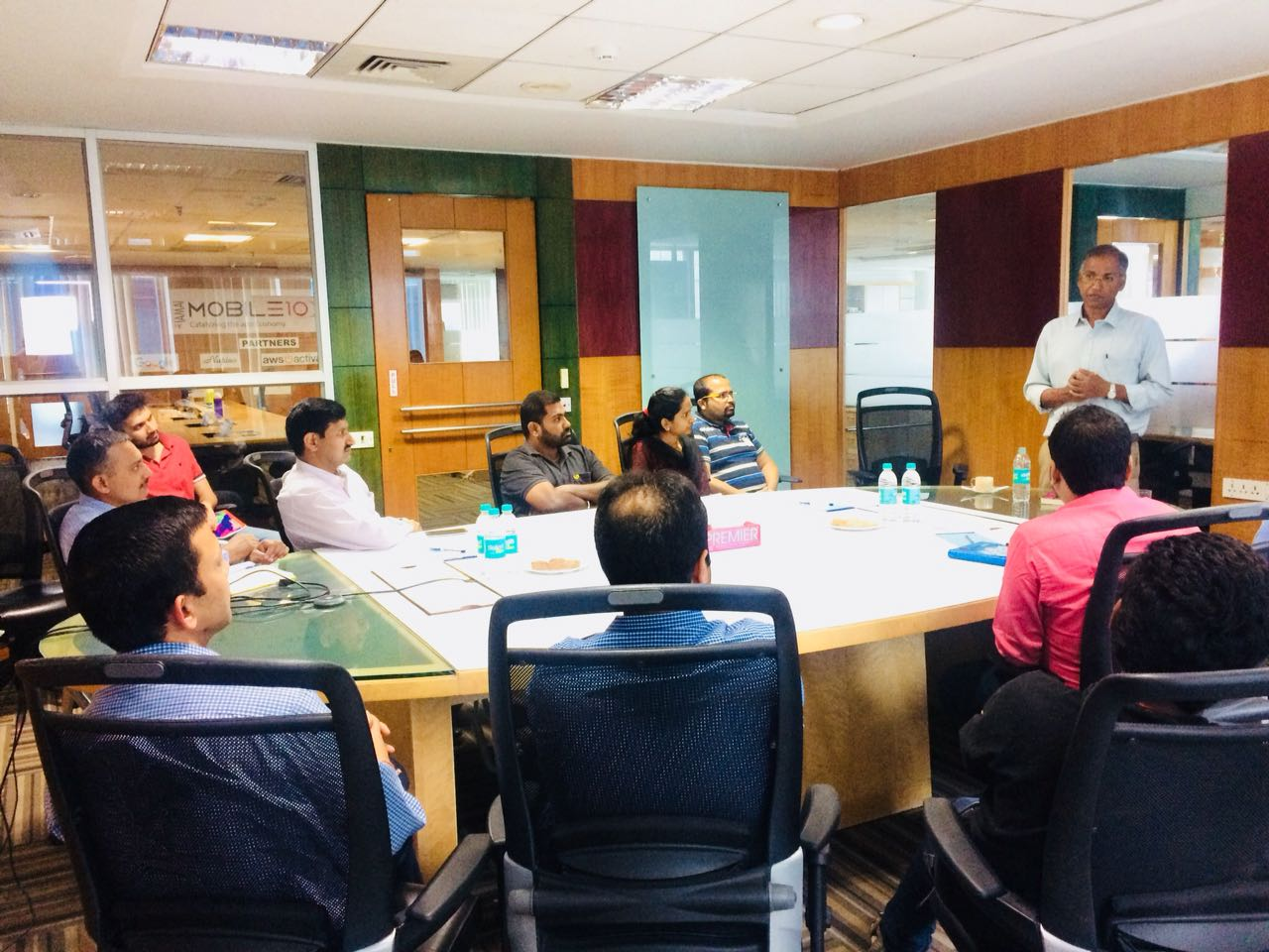 Mobile 10X Conducted A Session With Mr. Vaitheeswaran K