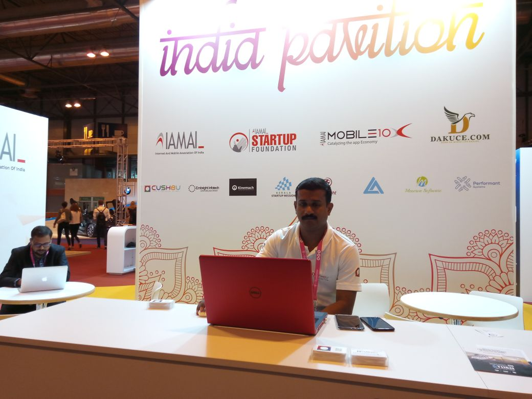 A Global outreach for the startup founders@ Digital Enterprise Show in Madrid, Spain