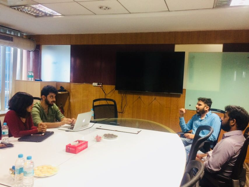 Mobile10X organized a session with Kloud team