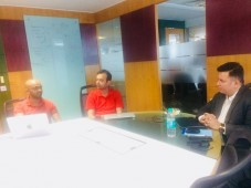 HFI's ONE-ON-ONE mentoring sessions @Mobile10x Bangalore Hub