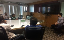 Mentor hours with Rajeev Dhal