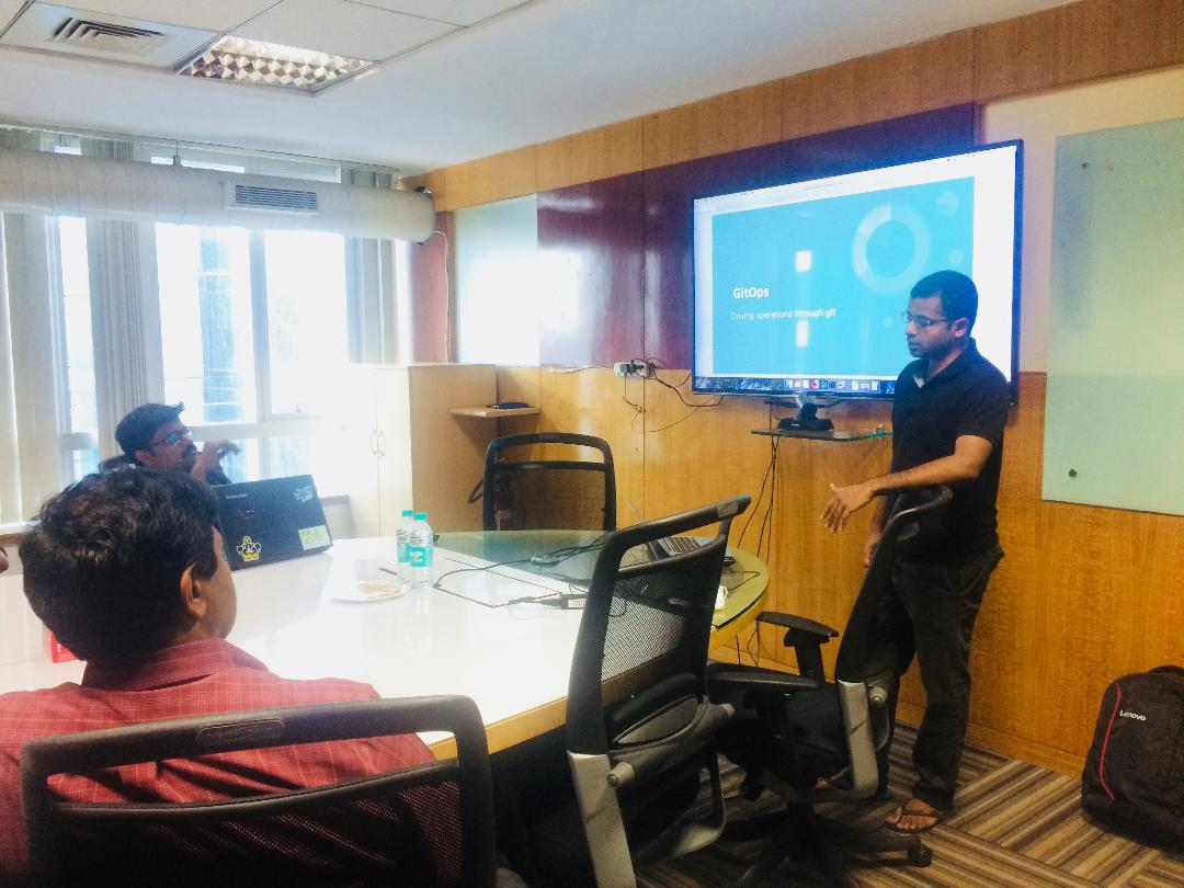 Mobile 10X conducted a Session with Hasura on GitOps